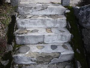 外階段の修繕