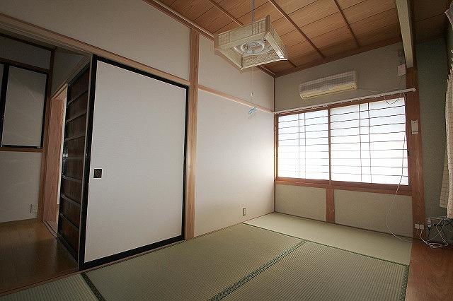 リフォーム後の和室