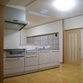 キッチン真上に、スカイライトチューブを取り付け