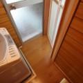 浴室と脱衣室をドアで仕切りたい