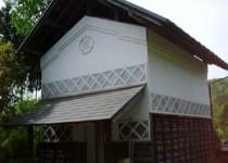 地震による蔵の壁補修