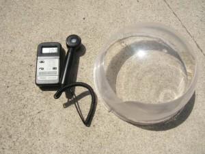 紫外線測定