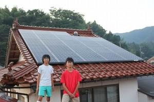 太陽光発電 設置事例