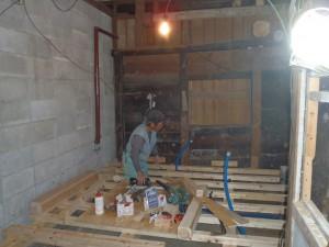 倉庫を改造