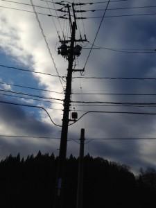 電柱・トランス