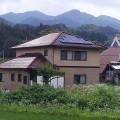 寄棟屋根への太陽光発電